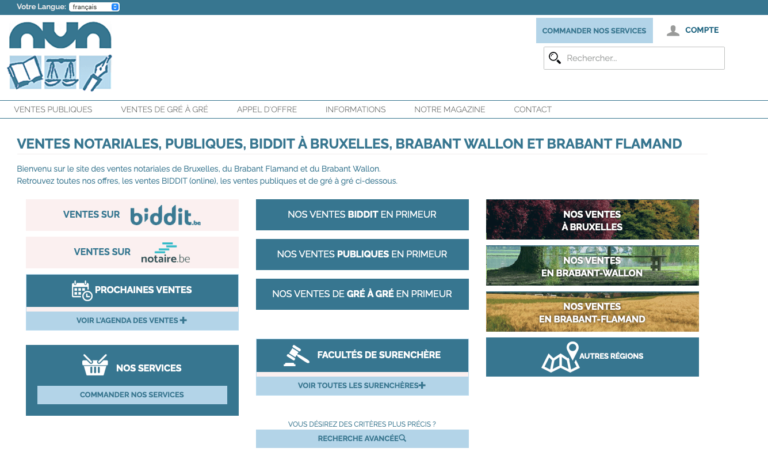 NVN, site de petites annonces de notaires