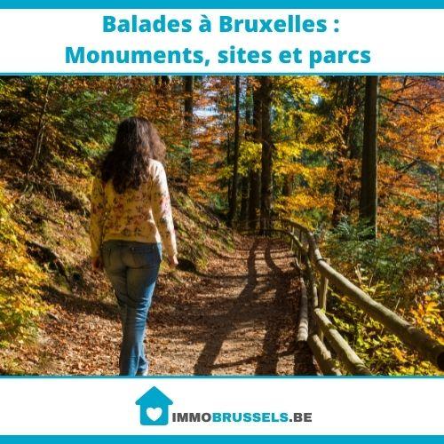 femme qui se balade dans le bois de la Cambre de Bruxelles