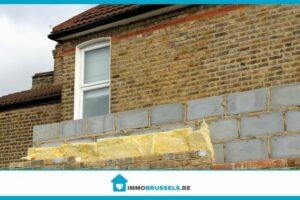 isolation des murs d'une maison par l'extérieur