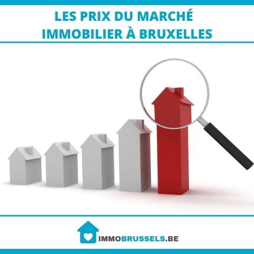 prix du marché immobilier à Bruxelles